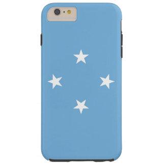 Flag of Micronesia Tough iPhone 6 Plus Case
