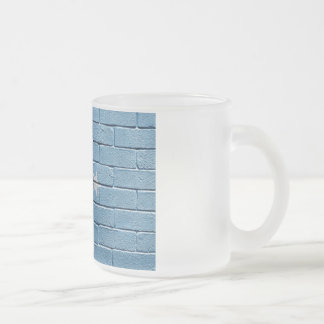Flag of Micronesia Frosted Glass Coffee Mug