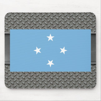 Flag of Micronesia Mouse Pad