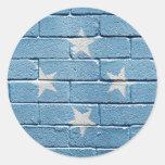 Flag of Micronesia Sticker