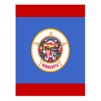 Flag of Minnesota Postcard