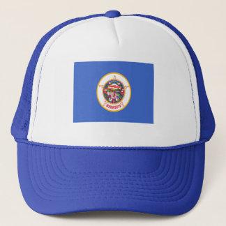 Flag of Minnesota Trucker Hat