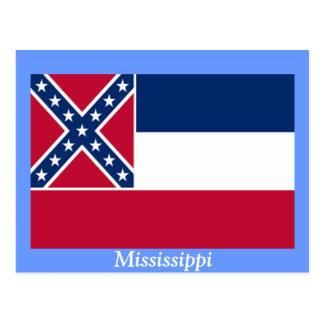 Flag of Mississippi Postcard