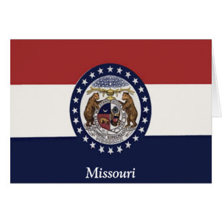 Flag of Missouri Card
