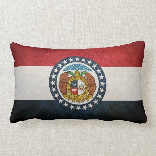 Flag of Missouri Pillows