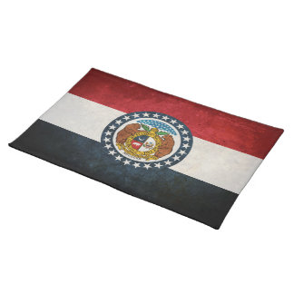 Flag of Missouri Cloth Placemat
