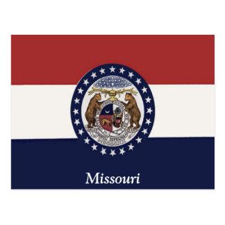 Flag of Missouri Postcard