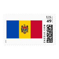 Flag of Moldova Postage Stamps