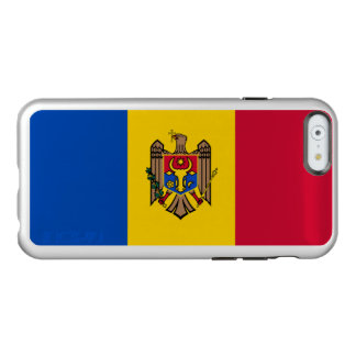 Flag of Moldova Silver iPhone Case