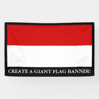 Flag of Monaco Banner