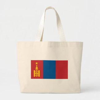 Flag of Mongolia -  Монгол улсын төрийн далбаа Large Tote Bag