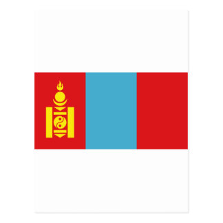 Flag of Mongolia Postcard