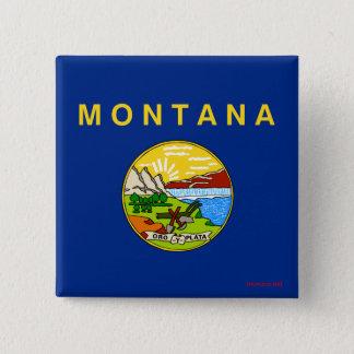 Flag of Montana Button