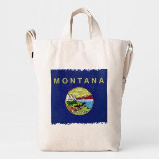 Flag of Montana Duck Bag