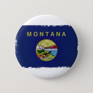 Flag of Montana Pinback Button