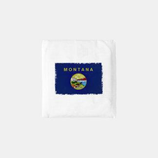 Flag of Montana Reusable Bag