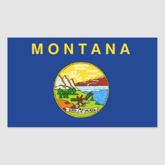 Flag of Montana Stickers