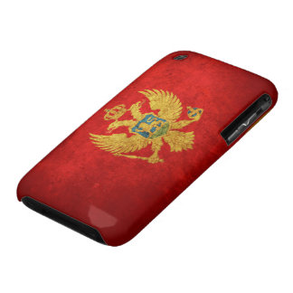 Flag of Montenegro iPhone 3 Cover
