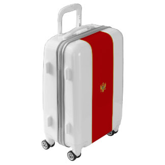 Flag of Montenegro Luggage (Carry-On)