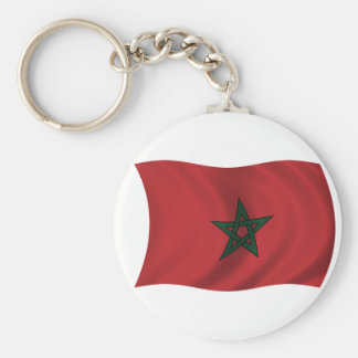 Flag of Morocco Key Chain