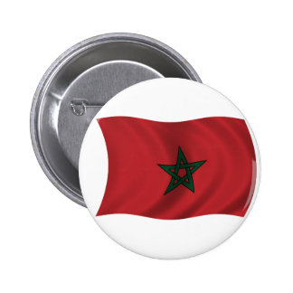 Flag of Morocco Pinback Button