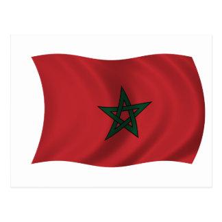 Flag of Morocco Postcard