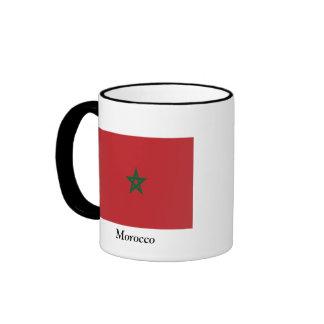 Flag of Morocco Ringer Mug