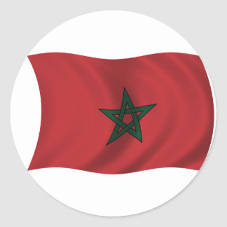 Flag of Morocco Stickers