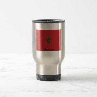 Flag of Morocco Travel Mug