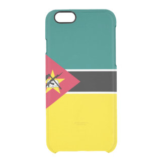 Flag of Mozambique Clear iPhone Case