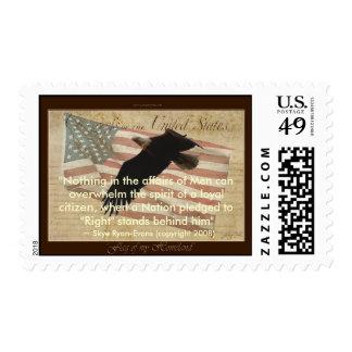 FLAG OF MY HOMELAND Stamp set