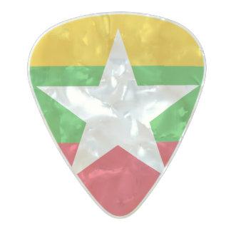 Flag of Myanmar Guitar Picks