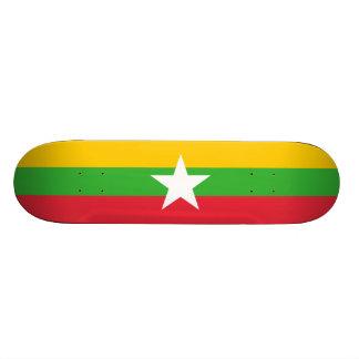 Flag of Myanmar Skateboard Deck