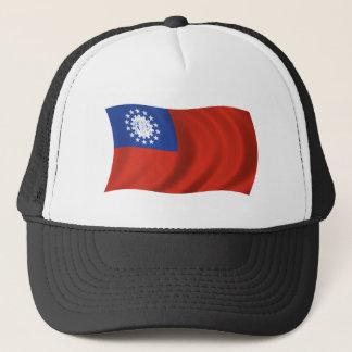 Flag of Myanmar Trucker Hat