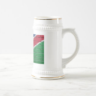 Flag of Namibia Beer Stein