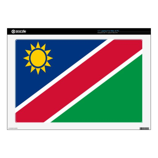 Flag of Namibia Decals For Laptops
