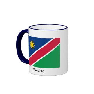 Flag of Namibia Ringer Mug