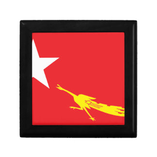 Flag of National League for Democracy Jewelry Box