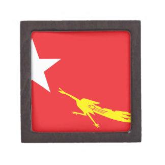Flag of National League for Democracy Keepsake Box