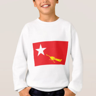 Flag of National League for Democracy Sweatshirt