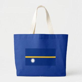 Flag of Nauru Large Tote Bag