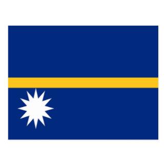 Flag of Nauru Postcard