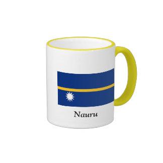 Flag of Nauru Ringer Mug
