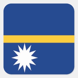 Flag of Nauru Square Sticker