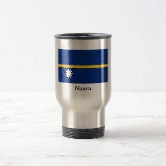 Flag of Nauru Travel Mug