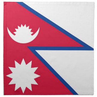 Flag of Nepal - नेपालको झण्डा Cloth Napkin