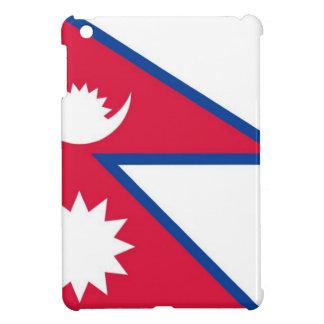 Flag of Nepal - नेपालको झण्डा Cover For The iPad Mini