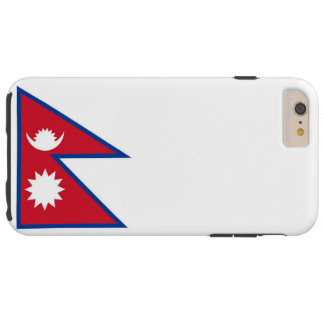 Flag of Nepal Tough iPhone 6 Plus Case