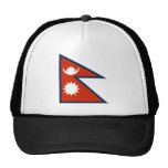Flag of Nepal Mesh Hat