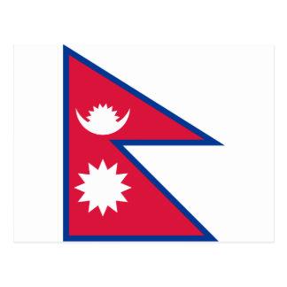 Flag of Nepal Postcard